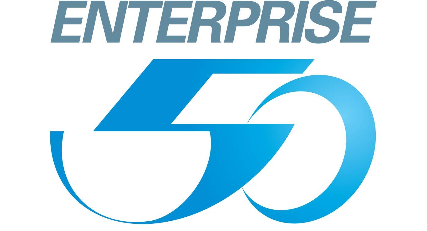 Singapore Enterprise 50 logo.